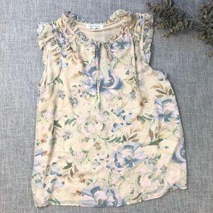 ROSE & OLIVE / floral top